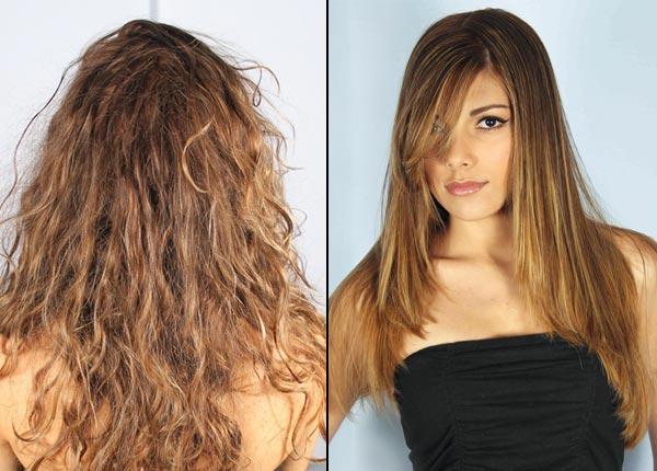 Taglio capelli medi a punta