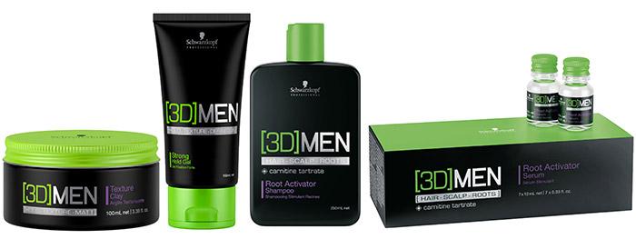 Prodotti per capelli uomo
