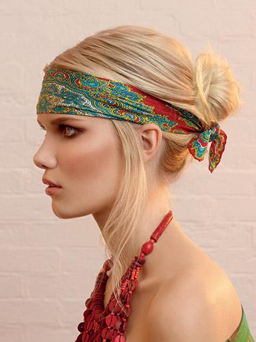 Capelli corti hippy
