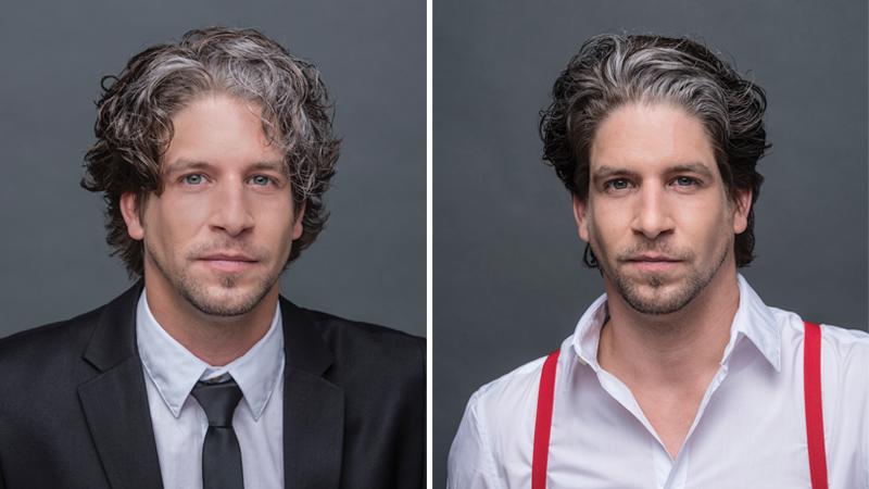 Stile e Fascino con i capelli brizzolati uomo - Tendenze e moda ... 1b882f06ac46