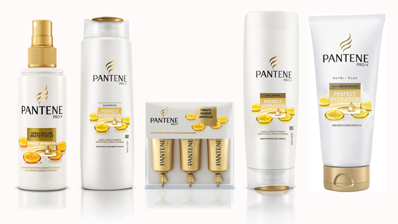 Capelli idratati e splendenti con Perfect Hydration di Pantene