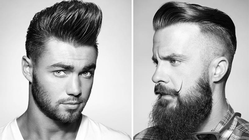 Taglio di capelli uomo di 50 anni